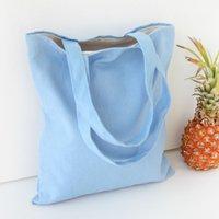 Wholesale Hot Sale Women Casual Printed Handbag Retro Canvas Shoulder Bag Large Tote Female Travel Shopping Bag Lunch Beach Bag