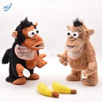 bananas music - Can electricity moving music interactive educational banana monkey multi function monkey children plush toys