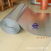 aluminum foil material - Single double bubble insulation material Aluminum foil heat resistant soundproof material lowes fire proof insulation construction material