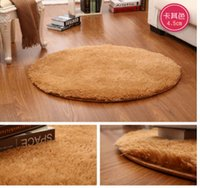 Wholesale 15 Colors Long and short Plush Shaggy Soft Carpet Area Rug Slip Resistant Door Floor Mat For Bedroom or Living Room