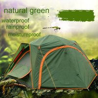 Wholesale Automatic Person Family Tourist Large Tent Double Layer Bedroom Camping Beach Tent Windproof Waterproof UV protection