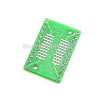 Cheap Wholesale-Free shipping 10PCS TSSOP20 SSOP20 SOP20 to DIP20 Transfer Board DIP Pin Board Pitch Adapter NEW