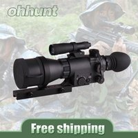 atn night - Ohhunt ATN Aries Series MK Paladin Monocular X Magnification Night Vision Rifle Scope For Tactical Hunting Riflescopes