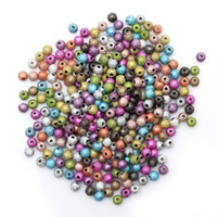 balls handcrafts - 4 mm Frosted Stardust Ball Spacer Beads Handcrafts Jewelry Findings Fit DIY Jewelry Making Bracelets