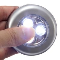 Wholesale Promotion LED lights Wall Press Wireless Bedroom Kitchen Wardrobe Cupboard Night Light Party Durable Quality