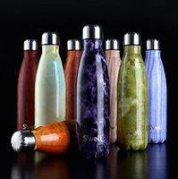 Wholesale S well Bottle Stainless Steel Vacuum Flask Cup Swell Sports Mug oz ml