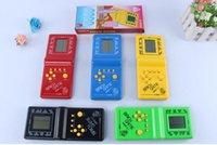 Wholesale Hot selling childhood fun Brick Game Handheld Game Machine Kids Game Machine random colour