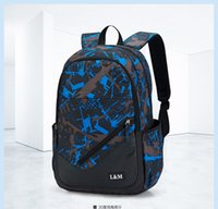 Wholesale New han edition tide men s and women s backpack backpack travelling computer leisure packages