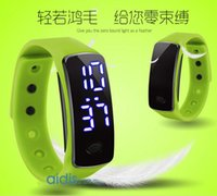 Wholesale Intelligence Child electronic watch colour variations waterproof LED So Young