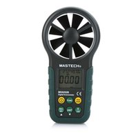 ambient temperature meter - MASTECH MS6252B Digital Anemometer Wind Speed Meter Air Volume Ambient Temperature Humidity Tester With USB Interface