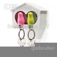 Oiseaux en gros-en alliage de zinc Couple Keychain et clés pour Couples Promotions Girlfriend Cadeau Cadeau New Maison Décoration
