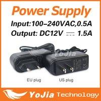 Wholesale Power Supply VAC Output DC12V A Switch Switching Power Supply Converter Power Adapter EU US Plug order lt no track