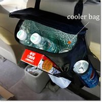 basket cover - Hot Sell Car Covers Seat Organizer Insulated Food Storage Container Basket Stowing Tidying Bags car styling