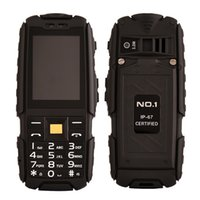 Wholesale Original NO A9 Rugged Phones With Flashlight Dustproof Shockproof Inch Dual SIM G GSM mAh Power Bank for Elder