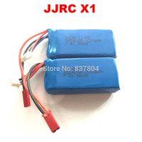 Wholesale 2 JJRC X1 Battery mAh li po battery for JJRC X1 Brushless RC Quadcopter Spare parts