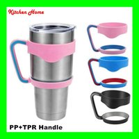 Wholesale Portable Yeti Cups Holder Nonslip PP TPR Cups Handle for Oz YETI Rambler Tumbler Handle Fit For ounce Yeti Cup Mugs