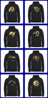 authentic hoodies - 2016 Pro Line Black Gold Collection Pullover Hoodie Men s Teams Drop Shipping Top Quality Authentic Jersey Size S XL Accept Mix Ord
