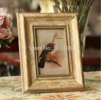 antique wood picture frames - European American antique wood frame picture frame to do the old retro creative crafts home accessories