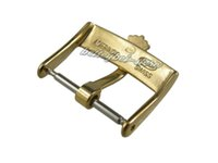 band crown - 18mm Support New watch band pin buckle gold polished High quality Solid Stainless Steel for strap brand crown for Rolex