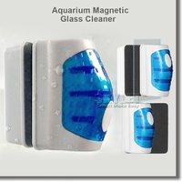 aquarium glass cleaner - Magnetic Brush Aquarium Magnetic Glass Cleaner Fish Tank Glass Algae Cleaner Floating Clean Brush with Retail Package