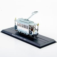 atlas vehicle - Atlas Tram Truck Toys Motrice N CGFT Diecast Tram Model Mini Model Train Vehicles Collection Toys D