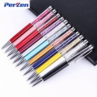 For Capacitive Screens ball posts - 40pcs in Swarovski colorful Crystal Capacitive Touch Stylus Ball Pen for ipad iPhone HTC Samsung Huawei Mi China Post Air