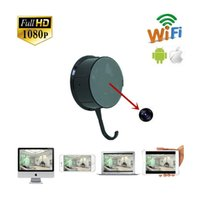 Wholesale Full HD P H WIFI Clothes Hook Camera spy hidden camera support Android and IOS