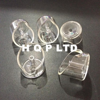 Wholesale Hyman quartz banger carb cap glass carb cap fit our mm mm thick quartz banger nail domeless nail cap oil rigs nail caps