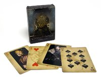 Wholesale HBO TV series Game of Thrones poker playing cards as collection A song of fire and ice derivative products