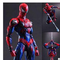 arts spiders - 2016 new PLAY ARTS change PA spider man movable joints Christmas toys