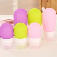 bath press - TSilicone Travel Packing Bottle Press Bottle For Lotion Shampoo Bath Container Silicone Packing Bottle SIZE L