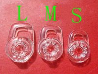 Wholesale Brand new eartips clear Silicone Discovery Size S M L Ear Gel