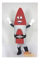 athletic tshirt - Customized Red rocket Mascot Costume without the tshirt