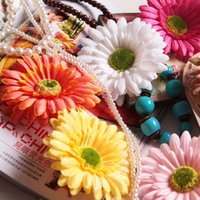 Wholesale New Arrival Resort Flowers Hair Clips Beach Hairpins for Women Hair Accessories for Beach flower hair clips colors