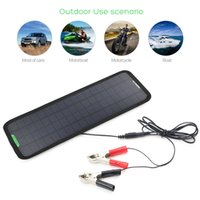 Wholesale New Smart V W Portable Car Boat Power Solar Panel Battery Backup Charger US