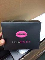 beauty cosmetics liquids - 2016 Newest Colors HUDA Beauty Liquid Lipstick Matte Gloss Moisturizing Make Up Lipstick Long Lasting Lip Gloss Cosmetic