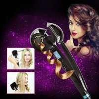 Wholesale Professional Hair Curler Styling Tools Digital Ceramic Wave Hair LCD Titanium Automatic Hair Roller plancha rizador de pelo Curling Irons