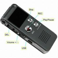 Wholesale 4GB Mini USB CL R30 Digital Voice Recorder Pen Hr Dictaphone MP3 Player Grey gravador de audio