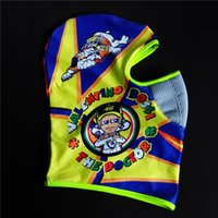 Wholesale New MOTOGP VR46 Rossi Motorcycle Face Mask Dustproof Balaclava Cotton Headwear