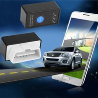 Wholesale scanner wifi ELM327 OBD2 OBDII Car Auto Diagnostics Scanner bluetooth diagnostic scanner diagnostic interface With Button For DOS Windows