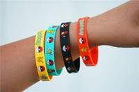 Wholesale Poke Mon Go Silicone Bracelets for Kids Poke Pocket Monster Wristband Soft Silicone Wrist Straps Kids Toys Gift