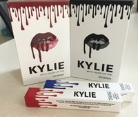 Wholesale Kylie Lip Kit by kylie Jenner Lipsticks Liquid Matte Lip Gloss long Lasting brand Makeup Colors