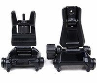 Wholesale AR Backup Gen Offset Front Rear Flip Up Rapid Transition Iron Back Up Sight Metal for Airsoft