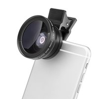 Wholesale Newest Universal X mm HD Super Wide Angle Lens With Macro for Mobile Phone