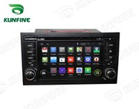 audi a4 gps navigation - Quad Core HD Screen Android Car DVD GPS Navigation Player for Audi A4 with Radio steering wheel control