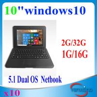 Wholesale 10pcs New inch quot Netbook HL Quad Core Tablet PC Windows CPU GHz Wifi G RAM GB DDR HDMI YX BJ