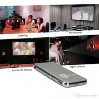 Wholesale 2016 Promotion Rushed Home Video Projector Mobile Smart Projector Dlp Led g g Wifi Android Rk3128 Bluetooth Portable Pocket Mini