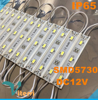 Wholesale SMD LED Modules light Waterproof IP65 LED String DC12V Outdoor lamp RGB red blue green yellow Modules light