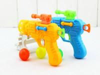baby nursery supplies - Yiwu children s toys Elastic table tennis gun nursery baby toys small gifts supply stall