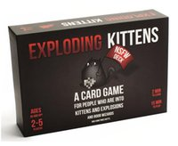 Wholesale Fun NSFW Exploding Kittens board game with kittens explode cards